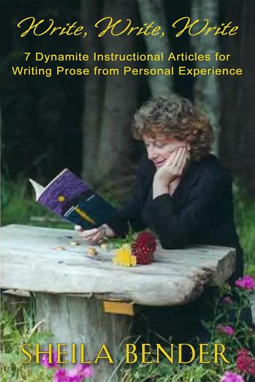 writing personal essays sheila bender