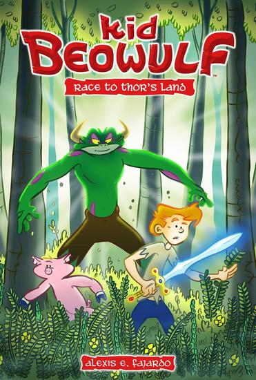 Kid Beowulf: Race to Thor's Land - Kid Beowulf - cover