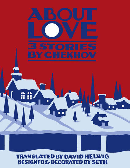 About Love - Three Stories by Anton Chekhov - cover