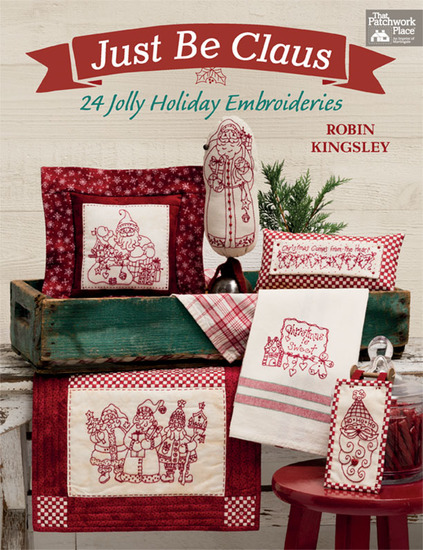 Just Be Claus - 24 Jolly Holiday Embroideries - cover