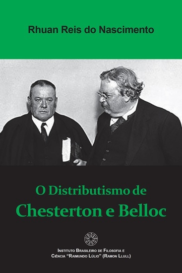 O Distributismo de Chesterton e Belloc - cover