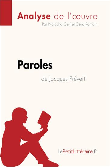 Paroles de Jacques Prévert (Analyse de l'oeuvre) - Comprendre la littérature avec lePetitLittérairefr - cover