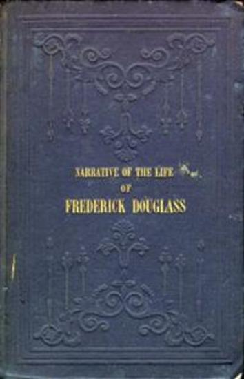 Narrative of the Life of Frederick Douglass - cover
