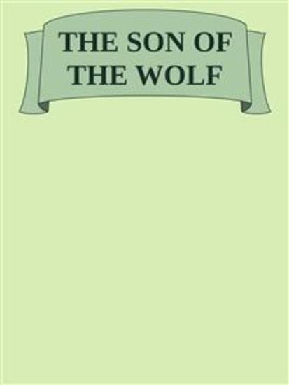 The son of the wolf - cover