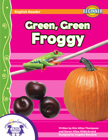 Green Green Froggy - cover