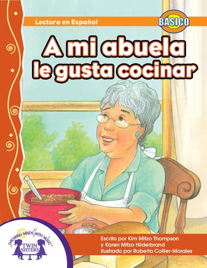 A mi abuela le gusta cocinar - cover