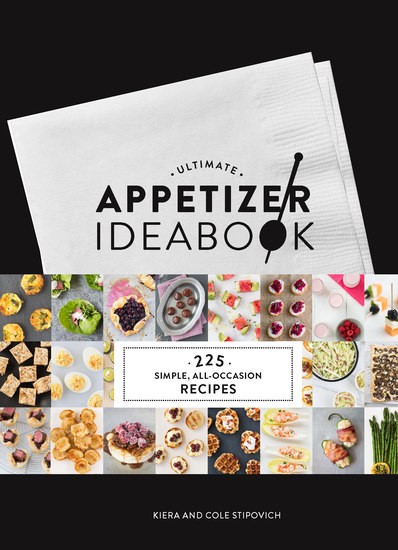 Ultimate Appetizer Ideabook - 225 Simple All-Occasion Recipes - cover