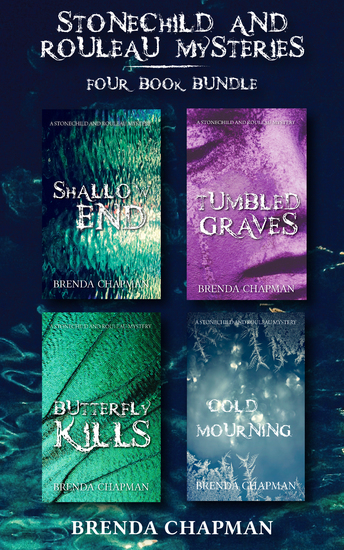 Stonechild and Rouleau Mysteries 4-Book Bundle - Shallow End Tumbled Graves Butterfly Kills Cold Mourning - cover