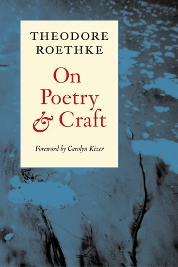 On Poetry and Craft - Selected Prose - cover