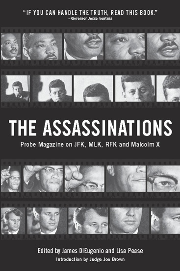 The Assassinations - Probe Magazine on JFK MLK RFK and Malcolm X - cover