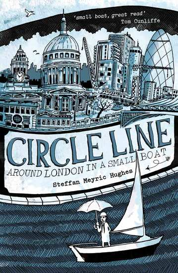 Circle Line - Around London in a Small Boat - cover