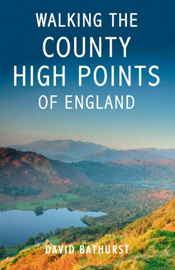 Walking the County High Points of England - cover