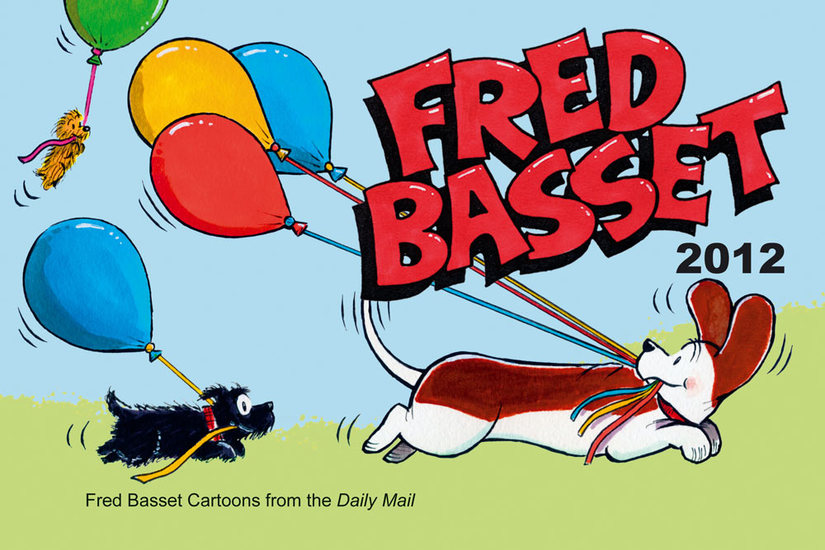 Fred Basset Yearbook 2012 - cover