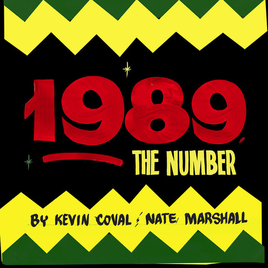 1989 The Number - cover