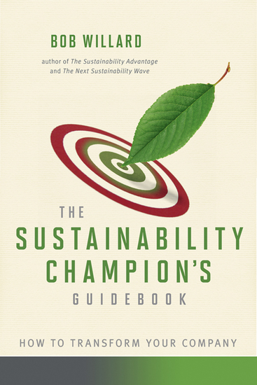 The Sustainability Champion's Guidebook - How to Transform Your Company - cover