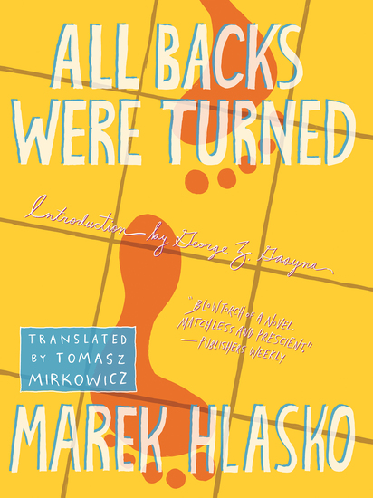 All Backs Were Turned - cover