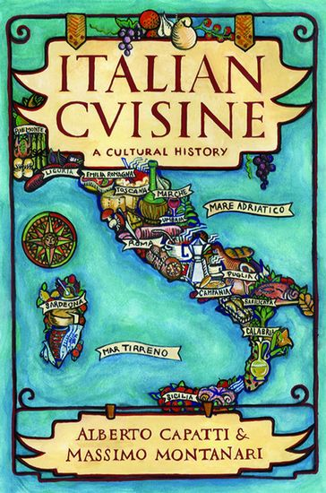 Italian Cuisine - A Cultural History - cover