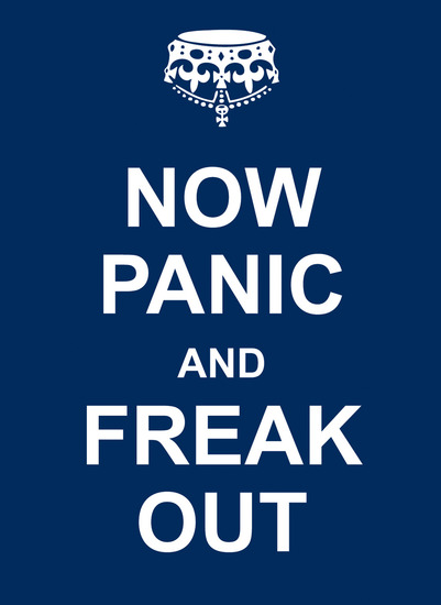Now Panic and Freak Out - cover