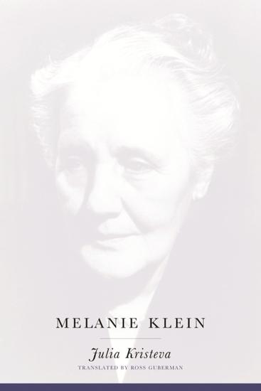 Melanie Klein - cover