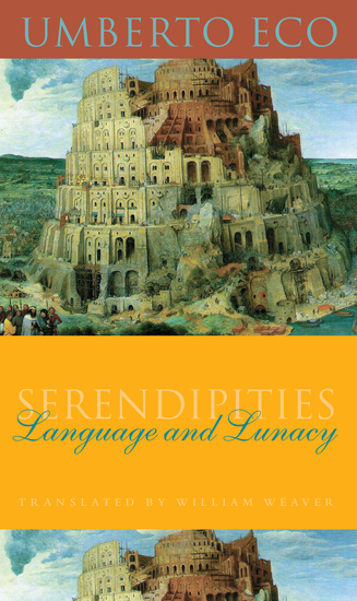 Serendipities - Language and Lunacy - cover