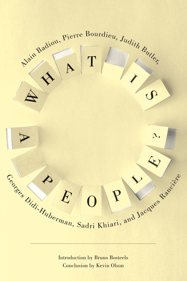 What Is a People? - cover