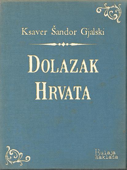 Dolazak Hrvata - cover