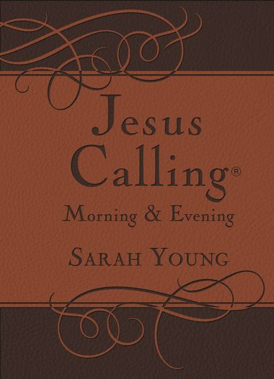 Jesus Calling Morning and Evening Devotional - cover
