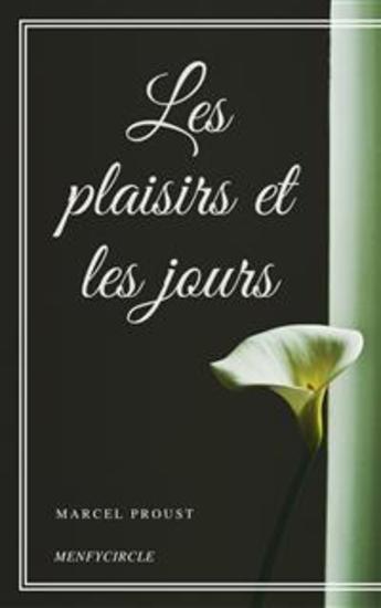 Les plaisirs et les jours - cover