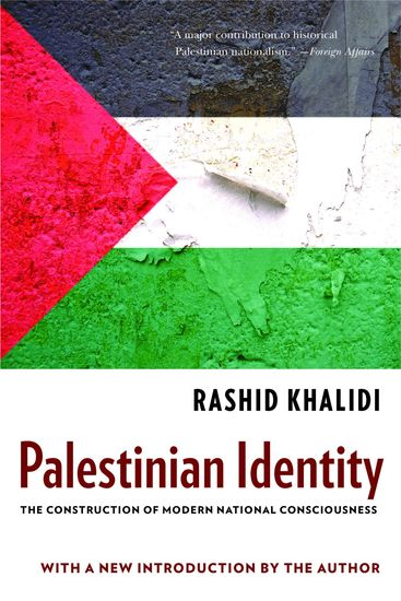 Palestinian Identity - The Construction of Modern National Consciousness - cover