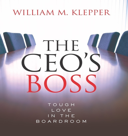 The CEO's Boss - Tough Love in the Boardroom - cover