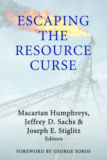 Escaping the Resource Curse - cover