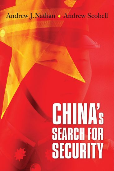 China's Search for Security - cover