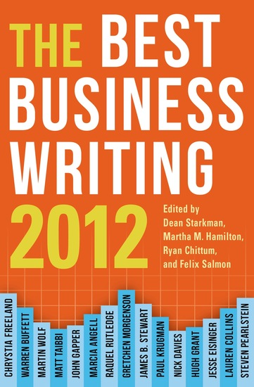 Best Business Writing 2012 - cover