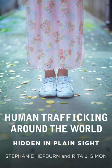 Human Trafficking Around the World - Hidden in Plain Sight - cover