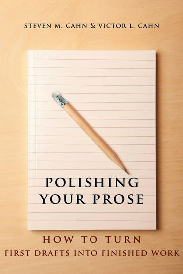Polishing Your Prose - How to Turn First Drafts Into Finished Work - cover