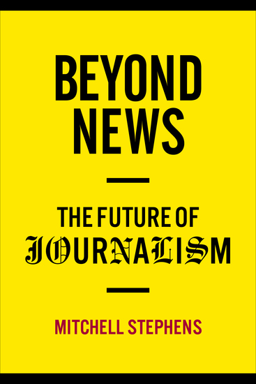 Beyond News - The Future of Journalism - cover