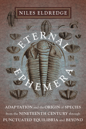 Eternal Ephemera - Adaptation and the Origin of Species from the Nineteenth Century Through Punctuated Equilibria and Beyond - cover