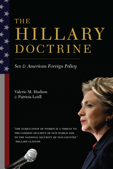 The Hillary Doctrine - Sex and American Foreign Policy - cover