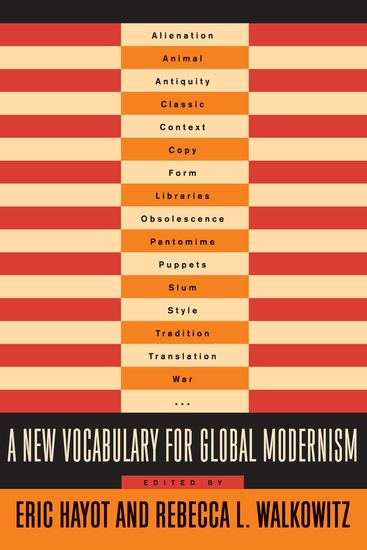 A New Vocabulary for Global Modernism - cover