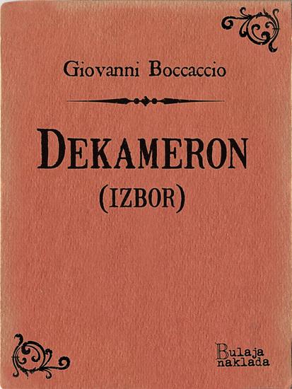 Dekameron - (izbor) - cover