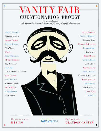 Vanity Farir: Cuestionarios Proust - cover