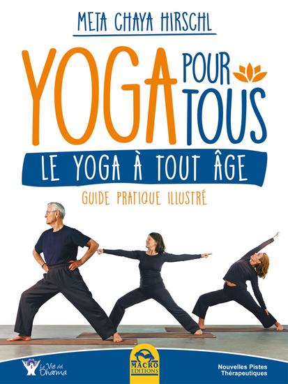 Yoga pour Tous - Le yoga à tout âge - Guide pratique illustré - cover