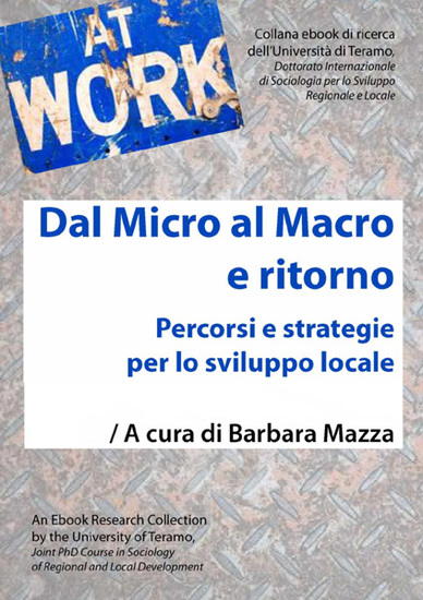 Dal Micro al Macro e ritorno - Percorsi e strategie per lo sviluppo locale - cover