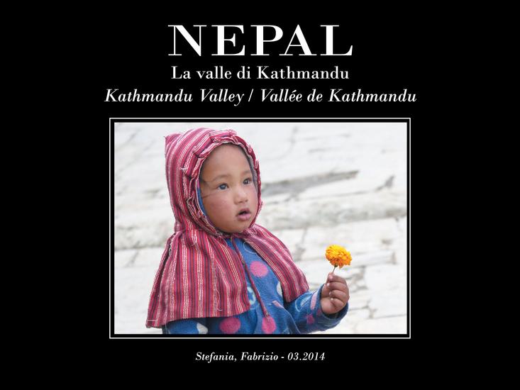 Nepal La Valle di Kathmandu - cover