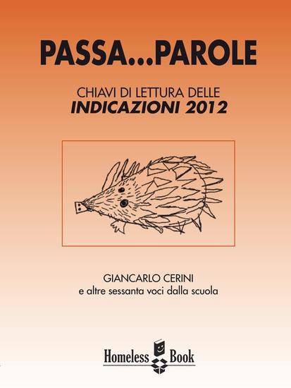 Passa parole - Chiavi di lettura delle indicazioni 2012 - cover