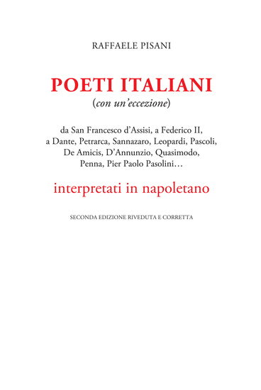Poeti italiani interpretati in napoletano - (con un'eccezione) - cover