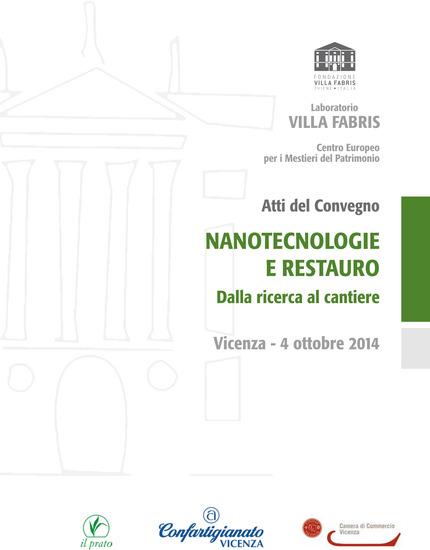 Nanotecnologie e restauro - Dalla ricerca al cantiere - cover