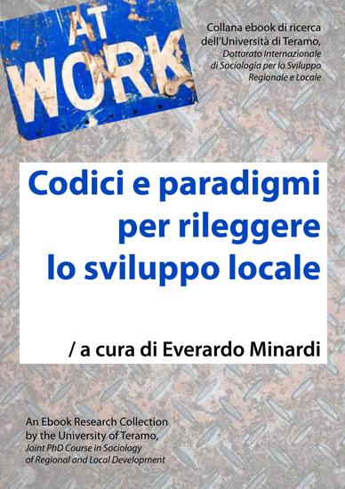 Codici e paradigmi per rileggere lo sviluppo locale - cover