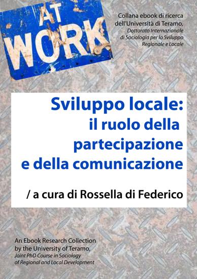 Sviluppo locale: il ruolo della partecipazione e della comunicazione - cover