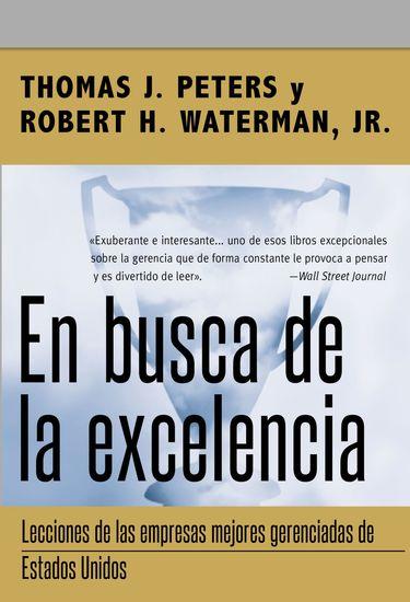 En busca de la excelencia - cover